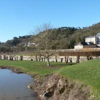 Bords de Seine à la Roche-Guyon