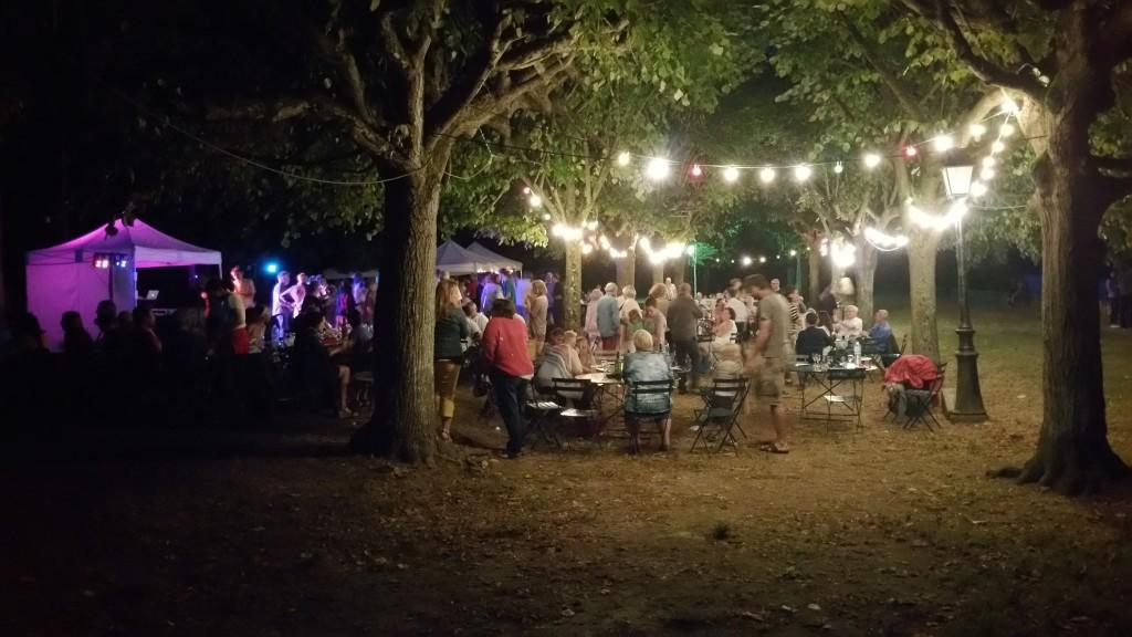 Le 14 juillet à La Roche-Guyon
