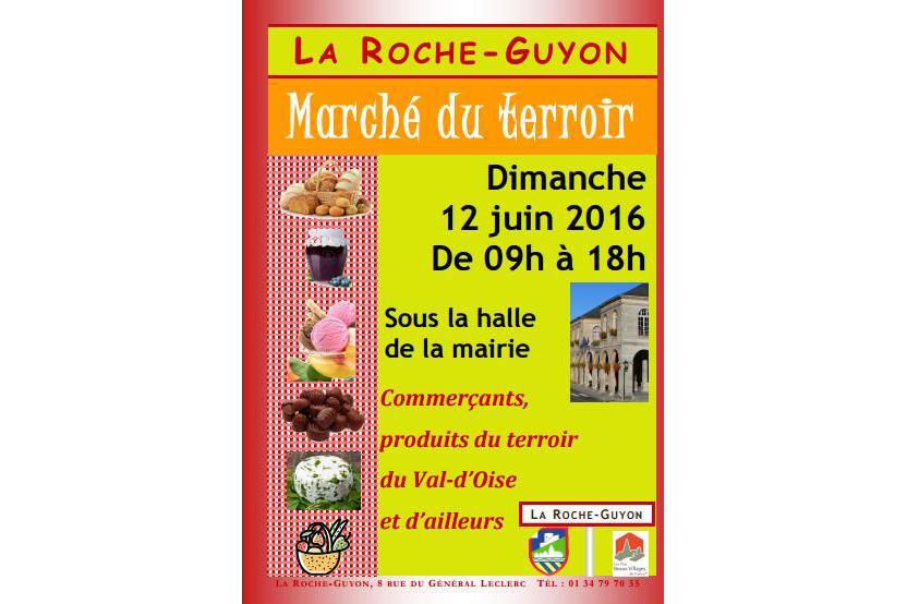 Marché du terroir à La Roche-Guyon