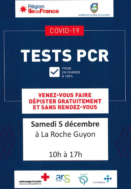 Camion test PCR